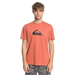 Quiksilver Comp Logo T-Shirt - Redwood