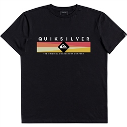 Quiksilver Distant Fortune T-Shirt - Black