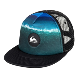 Quiksilver Psychic Patterns Trucker Cap - Black