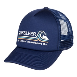 Quiksilver Standards Trucker Cap - Navy Blazer