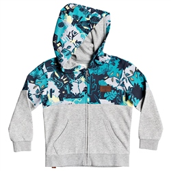 Quiksilver Reeling Set Zipped Hoody - Light Grey Heather