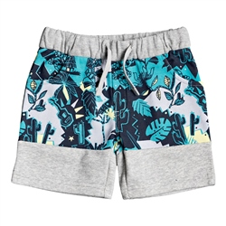 Quiksilver Reeling Set Jogger Shorts - Light Grey Heather
