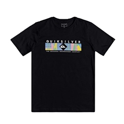 Quiksilver Boys Distant Fortune T-Shirt - Black