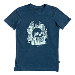 Quiksilver Drum Fire T-Shirt - Majolica Blue