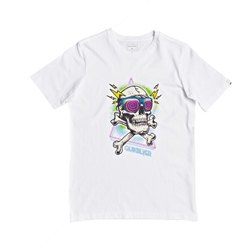 Quiksilver Hell Revival T-Shirt - White