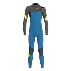Quiksilver Syncro 3/2mm Wetsuit - Marine & Black (2020)