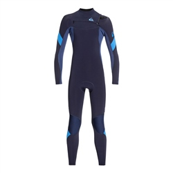 Quiksilver Syncro 4/3mm Wetsuit - Navy & Blue (2020)