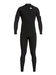 Quiksilver Syncro 3/2mm Wetsuit - Black & White