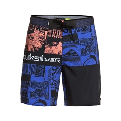 Quiksilver Highline Rave Wave Boardshorts - Black