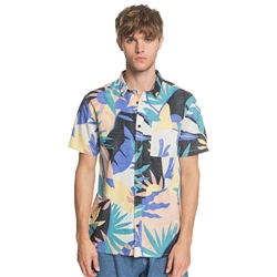 Quiksilver Tropical Flow Shirt - Snow White