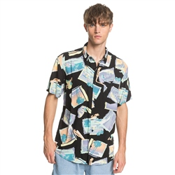 Quiksilver Vacancy Shirt - Black Vacancy