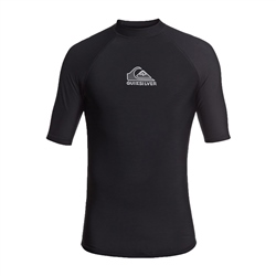 Quiksilver Mens Heater Rash Vest - Black