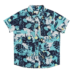Quiksilver Jungle Weekend Shirt - Microchip