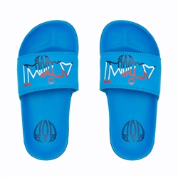 Animal Slyder Boys Flip Flop - Mediterranean Blue