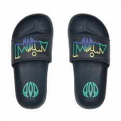 Animal Slyder Flip Flop - Black