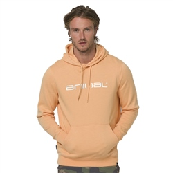 Animal Driver Hoody - Coral Sands Orange Marl
