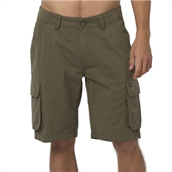 Animal Mazo Walkshorts - Dusty Olive Green