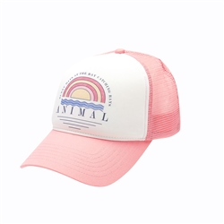 Animal Kailey Trucker - Strawberry Pink