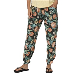 Animal Beach Love Trousers - Raven Black
