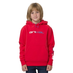 Animal Roadie Boys Hoody - Watermelon Red