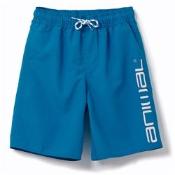 Animal Tannar Boys Boardshorts - Mediterranean Blue