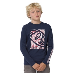 Animal Board Boys T-Shirt - Indigo Blue