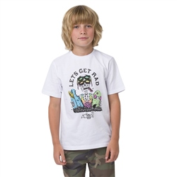 Animal Get Rad Boys T-Shirt - White