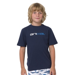 Animal Sketchy Boys  T-Shirt - Indigo Blue