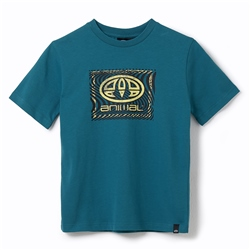 Animal Thoron Boys T-Shirt - Colonial Blue