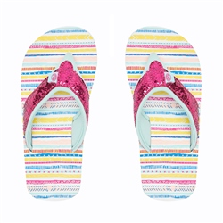 Animal Swish Glitz Flip Flop - Multicolour