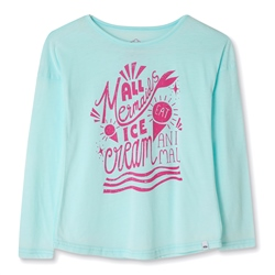 Animal Ariella Girls T-Shirt - Misty Green