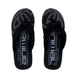 Animal Jekyl Logo Too Flip Flop - Black