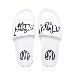 Animal Slyde Flip Flop - White