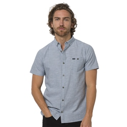 Animal Fleck Shirt - Lead Grey
