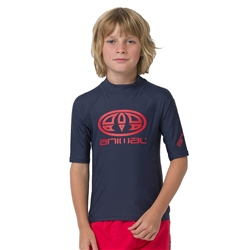 Animal Hiltern Boys Rash Vest - Indigo Blue
