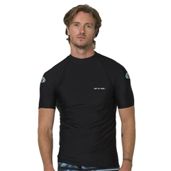 Animal Loet Mens Rash Vest - Black