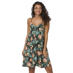 Animal Caseytwo W Dress - Raven Black