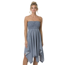 Animal Honalulu Honey Dress - Chambray Blue