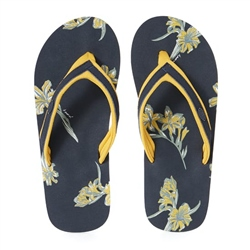 Animal AOP Flip Flop - India Ink Blue