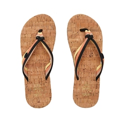 Animal Summer Flip Flop - Raven Black