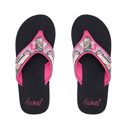 Animal Swish Upper AOP Flip Flops - Multicolour