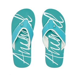 Animal Swish Logo Flip Flop - Canyon Green