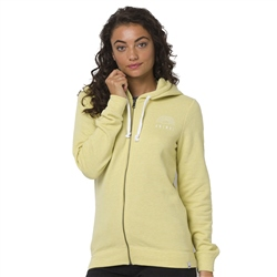 Animal Palmira Zipped Hood - Pineapple Yellow Marl