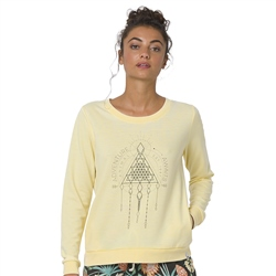 Animal Cruize Sweatshirt - Pineapple Yellow