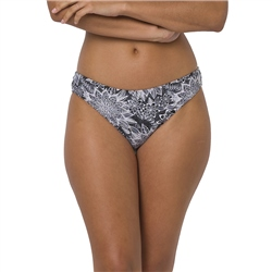 Animal Butterflyfish Bikini Bottom - Black