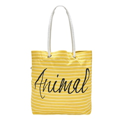 Animal Beachin Beach Bag - Pineapple Yellow