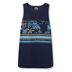 Animal Viper Vest - Indigo Blue Marl