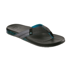Reef Cushion Bounce Phantom Flip Flops - Black & Green