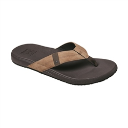 Reef Cushion Bounce Phantom Flip Flops - Brown & Tan