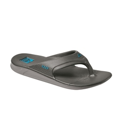Reef One Flip Flops - Grey & Blue